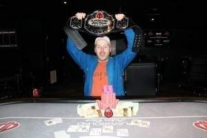 JP Piquette, Champion of the 2012 Playground Poker Classic High Roller event.