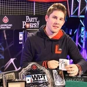 Jonathan Roy, le champion du WPT Montréal 2012