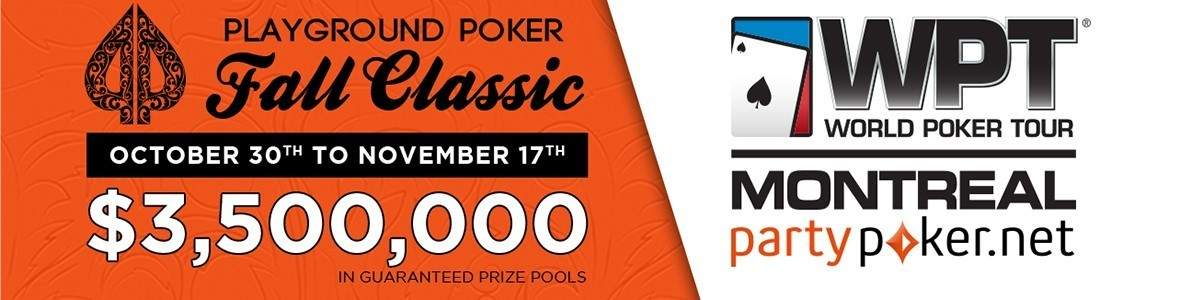 Playground Poker Fall Classic 2016