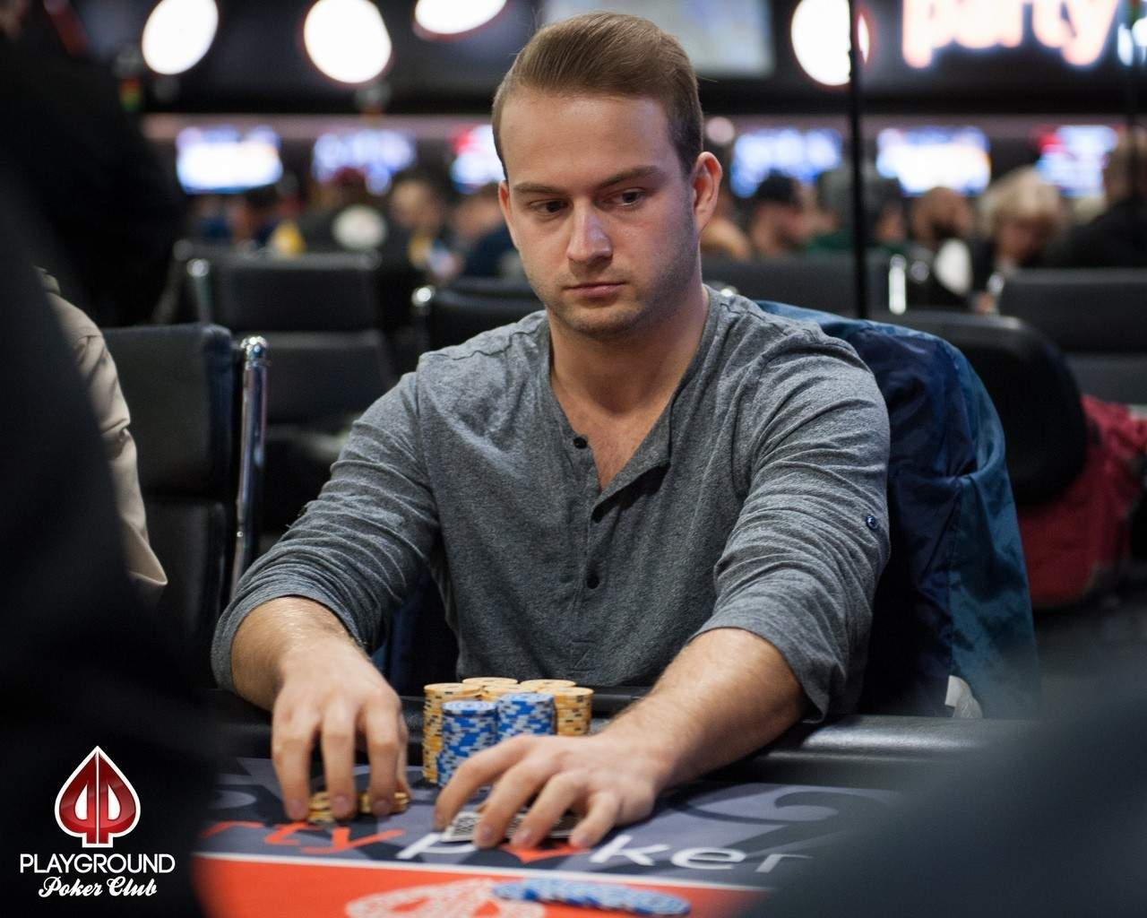 Fortin Demers out 17th   Playground Poker Fall Classic 2016