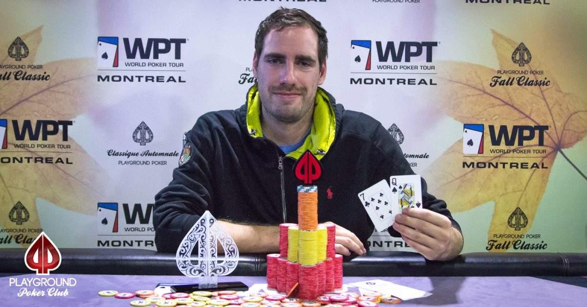 Pierre-Olivier Adam wins Event #16