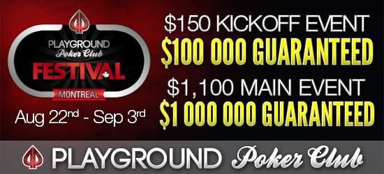 Playground Poker Montreal Festival