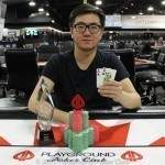 Event 11 Champion: Wenzhe Wang