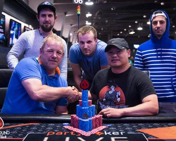 The $550 Deepstack ends on a 5-way chop