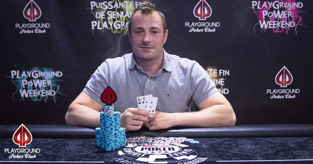 Pierre-Luc Bélanger takes the Megastack Turbo