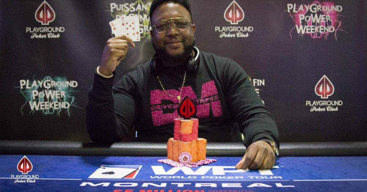 Sandrel Dugue wins the 50/50 Bounty tournament