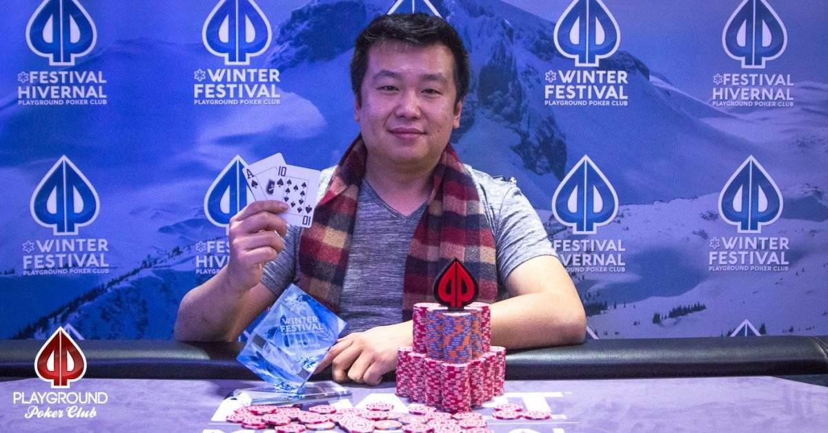 Champion of Event 1: Yu Chen Chen