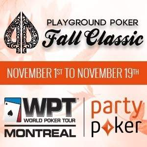 Playground Poker Fall Classic presented by partypoker.net