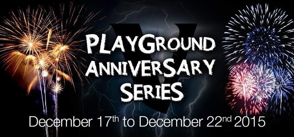 Playground Anniversary Series